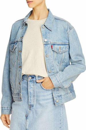 Levi's Ex Boyfriend Trucker Jacket in For Real