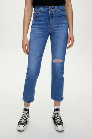 Levi's Wedgie Straight in Jive Tone