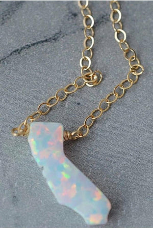 Opal California Necklace