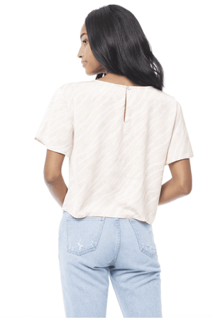 Saltwater Luxe Gabrielle Short Sleeve Blouse