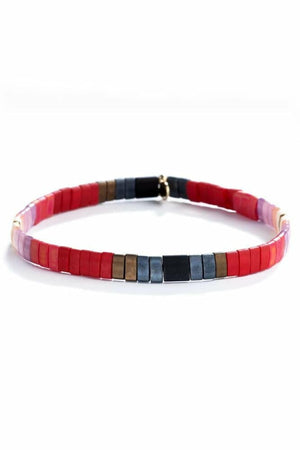 Shashi Tilu Bracelet in Red Ombre