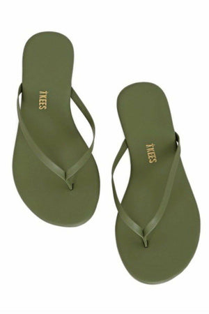 Tkees Leather Flip Flops Solids - No. 10
