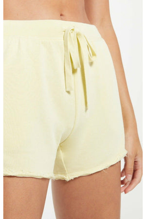 Z Supply Marina Washed Short - Key Lime