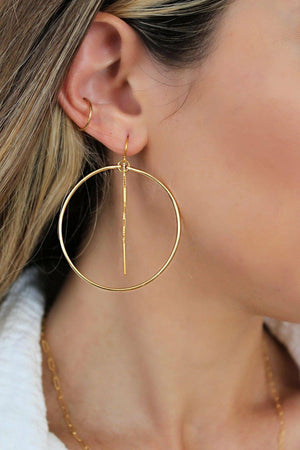 Jessica Matrasko Dionne Hoop Earrings