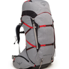 Front view osprey aether pro 70L pack