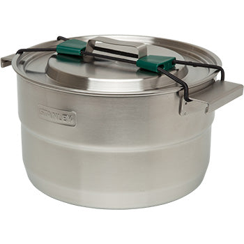 stanley base camp cookset packed into 3.7 quart pot