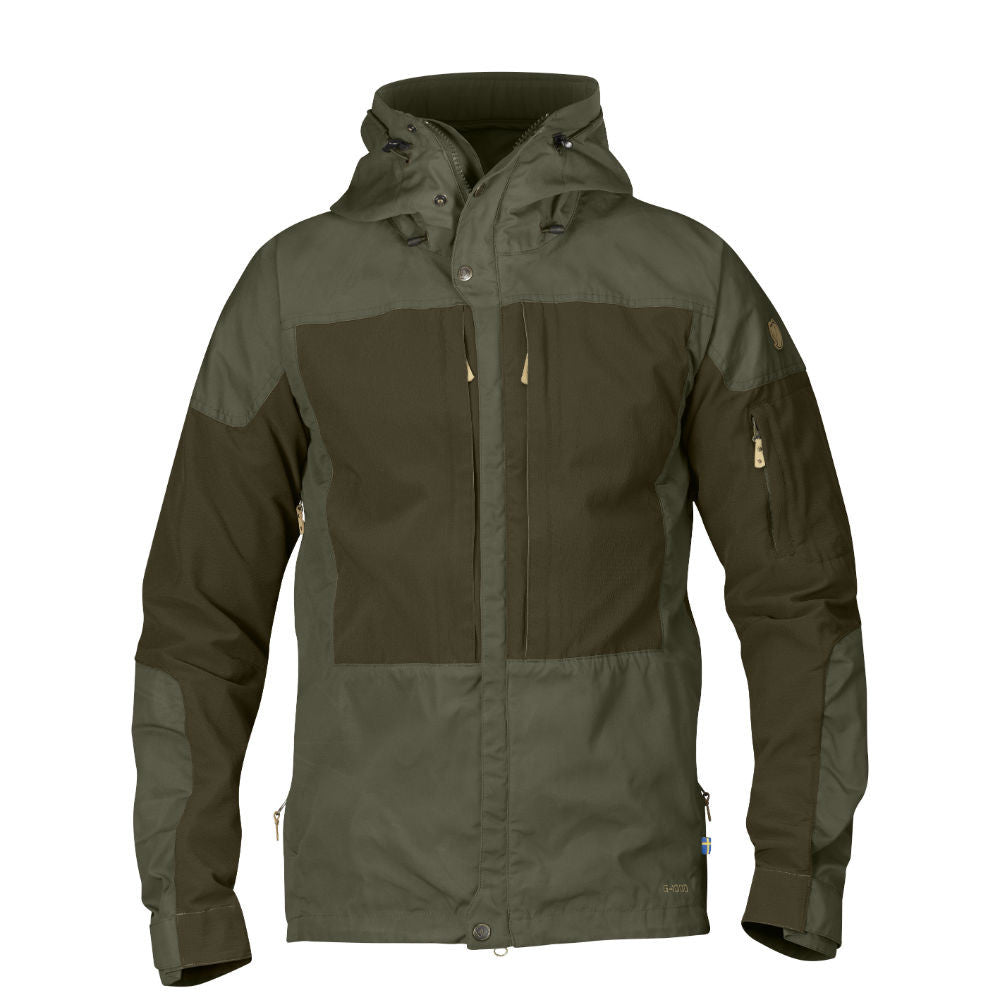 Keb trekking jacket in tarmac