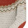 Close up of sleeve detail on Fjallraven women's ovik knit sweater