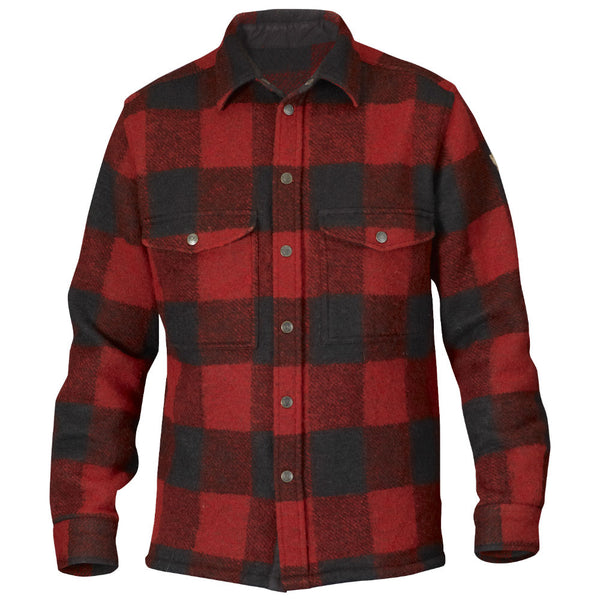 Fjallraven Canada shirt in red plaid