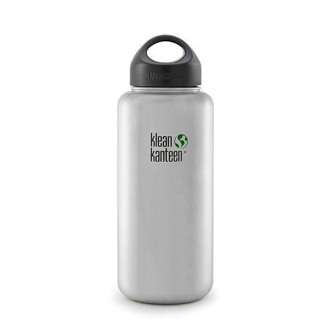 40 oz stainless steel bottle with wide-mouth