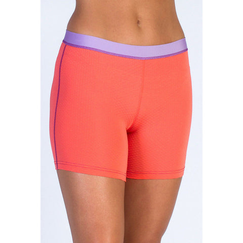 exofficio womens give-n-go boxer hot coral
