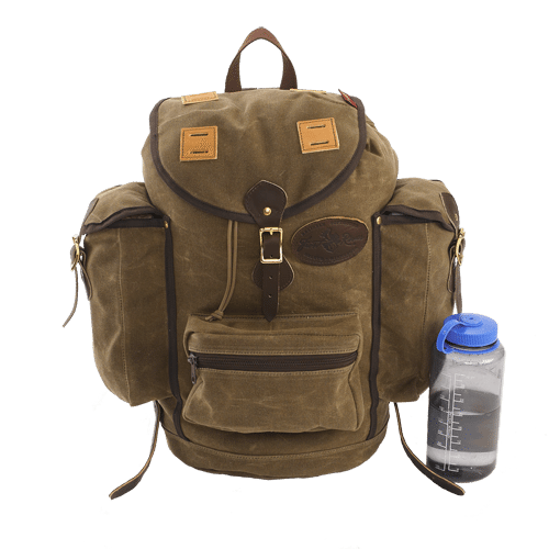 Frost River Summit Expedition pack with nalgene