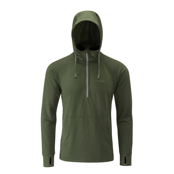 Rab Top-out Hoody hunter green