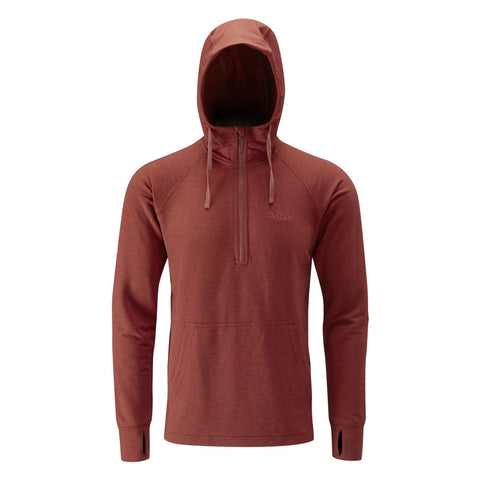 Rab top-out hoody rust