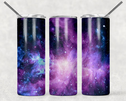 20 oz tumbler - Galaxy tumbler - Tumbler for her - Birthday gift - Mother's Day gift - Valentine's Day gift