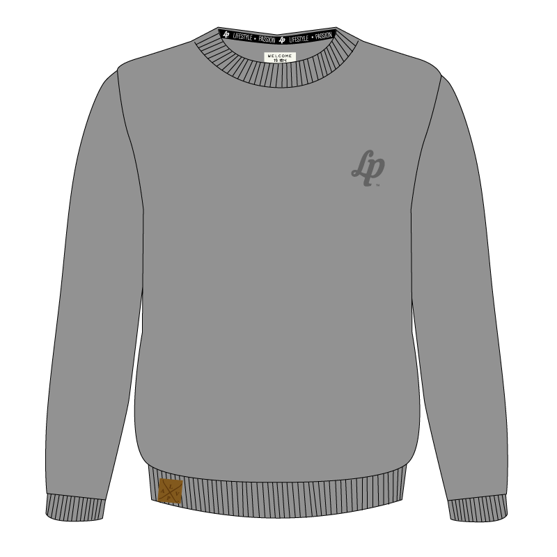 Chandail en tricot (HOUSTON) | Knit crewneck (HOUSTON) image
