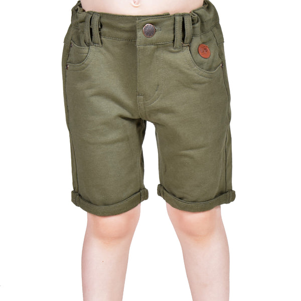 Walkshorts en French Terry (Gris Feuille) | French Terry walkshorts (Leaf Gray)