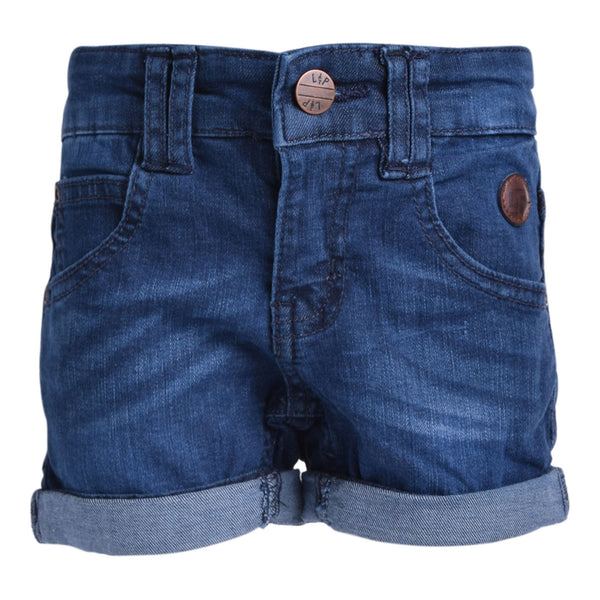 Walkshorts en denim (Bleu Foncé) | Denim walkshorts (Dark Blue)