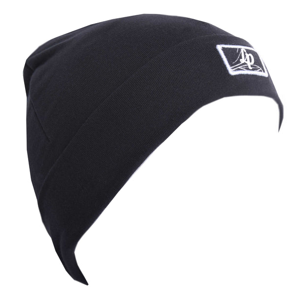 Tuque Boston en coton (V20 Noir Avec Logo Casoria) | Boston cotton beanie (V20 Black With Casoria Logo)