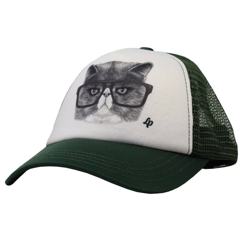 Casquette de style trucker (Chat Choqué)  | Trucker style cap (Angry Cat)