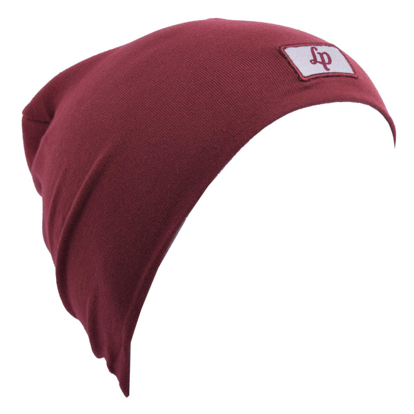 Tuque Boston en coton (V20 Bourgogne) | Boston cotton beanie (V20 Burgundy)