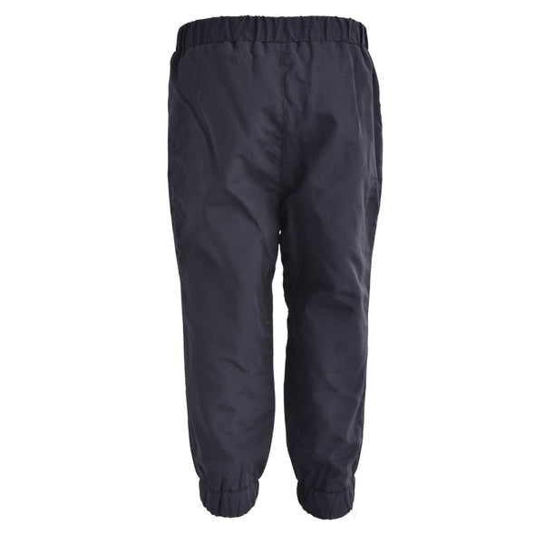 Pantalon d'extérieur doublé en nylon (Noir) | Outerwear pants, lined in nylon (Black)