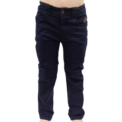 Pantalon style Skateboard pour bébés et enfants (Marine) | Skateboard style pants for babies and children (Navy)