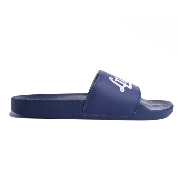 Sandales à enfiler (Navy Line) | Slide Sandals (Navy Line)