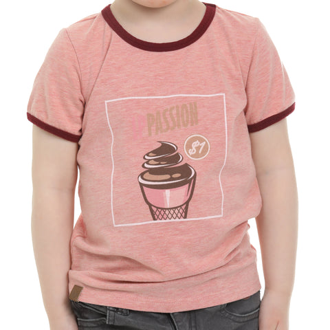 Chandail manches courtes pour bébés et enfants (Ice Cream) | T-shirt for babies and children (Ice Cream)