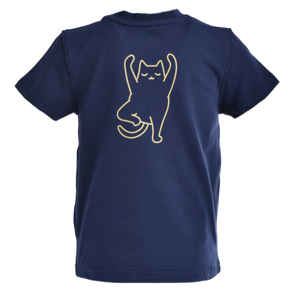 Chandail manches courtes (Yoga Cat) | T-shirt (Yoga Cat)