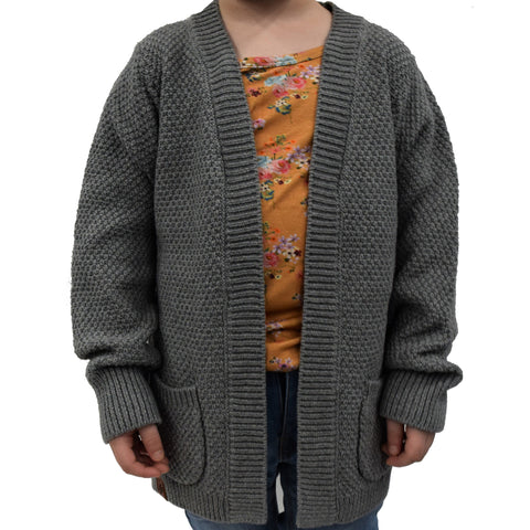 Veste en tricot filles (Cardigan) | Girls knitted cardigan (Cardigan)