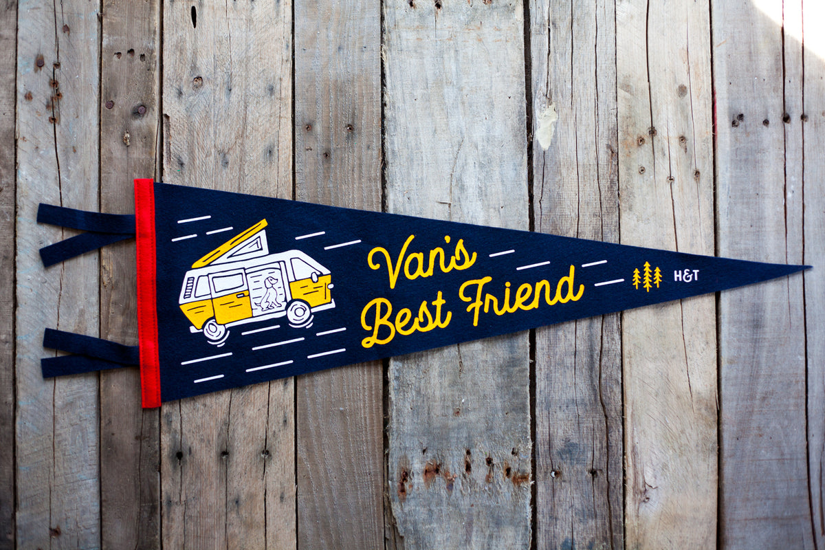 Van's Best Friend Pennant