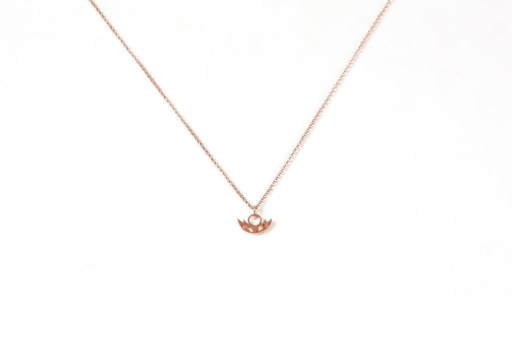 #BloomLA - Women's 14K Rose Gold Dipped Pendant