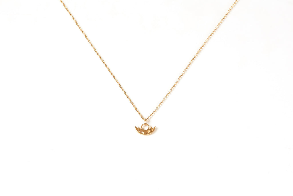 #BloomLA - Women's 14K Yellow Gold Dipped Pendant