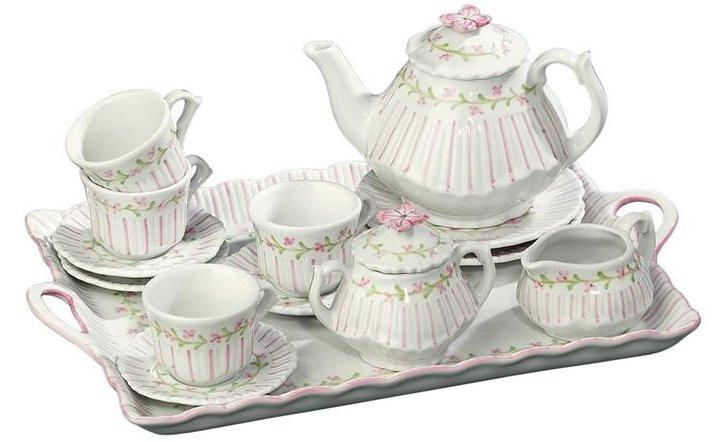 Welcome Back to all 16 piece Girls' Porcelain Tea Sets!