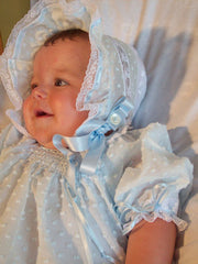 Heirloom Baby Dress and Bonnet