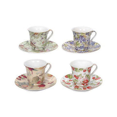 Fruit and Floral Bulk Discount Tea Cups