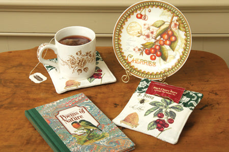 Spiced Tea Cup Teacup Mug Mats with tea bag
