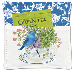 Bluebird Spiced Mug Mat with Tea Bag