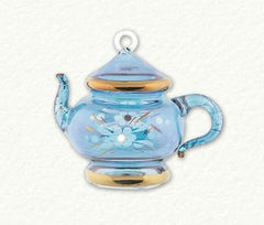 Egyptian Glass Teapot Ornament