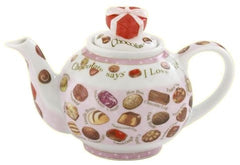 Chocolate Themed Teapot