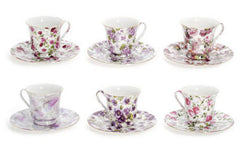 Floral Chintz Bulk Discount Tea Cups