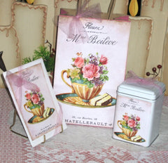 Tea Tins and Tea Envelopes