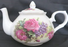 Sando Pink English Bone China Teapot