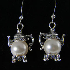 Teapot Charms and Jewelry