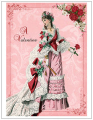 Victorian Valentines Day Post Card