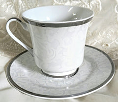 White Lace Bulk Discount Tea Cups