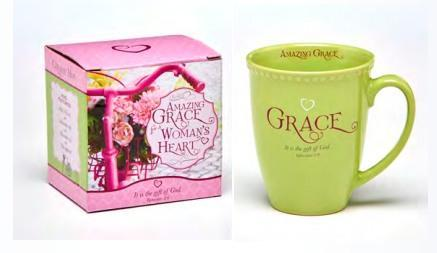 Amazing Grace Mug in Gift Box - Roses And Teacups