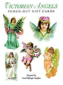 Angel Punch Out Gift Cards-Roses And Teacups