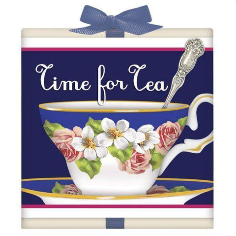Blue Teacup Tea Box Favor - Roses And Teacups